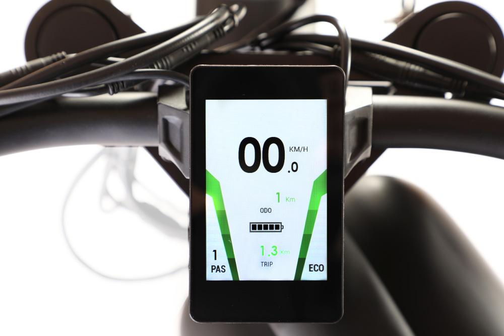 E-Coffeecruiser Display